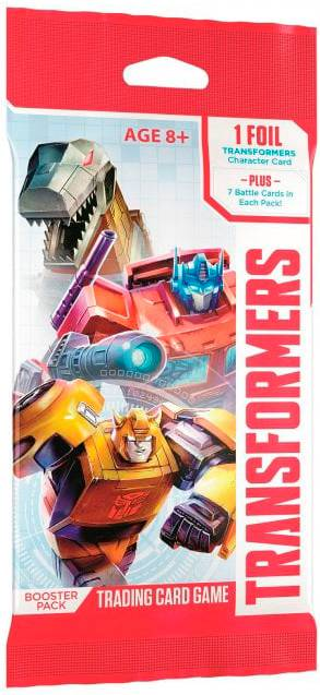 Transformers TCG Booster Trading Card Game