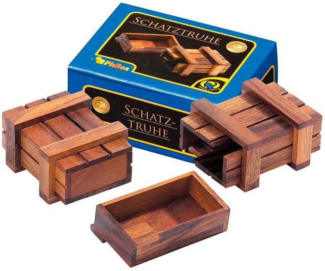 Treasure Chest Hjernetrim Hvem kan åpne skattekisten?