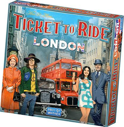 Ticket To Ride London Brettspill Norsk utgave