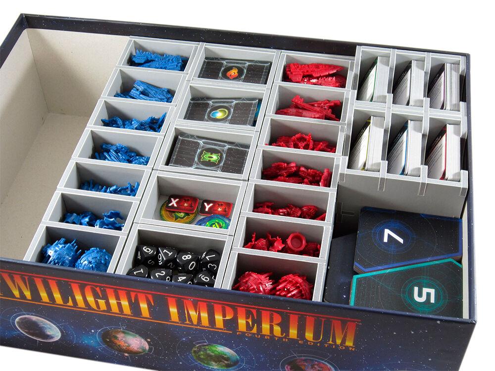 Twilight Imperium 4th Ed. Insert Få system i spillboksen