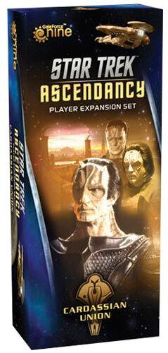 Star Trek Ascendancy Cardassian Union Utvidelse til Star Trek Ascendancy
