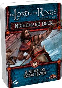 LotR TCG Storm On Cobas Nightmare Deck Utvidelse Lord of the Rings Card Game