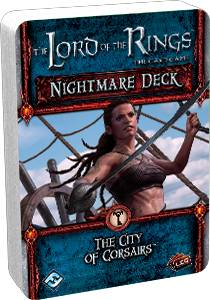 LotR TCG City Of Corsairs Nightmare Deck Utvidelse Lord of the Rings Card Game