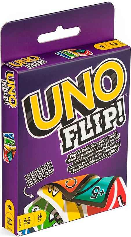Uno Flip Kortspill