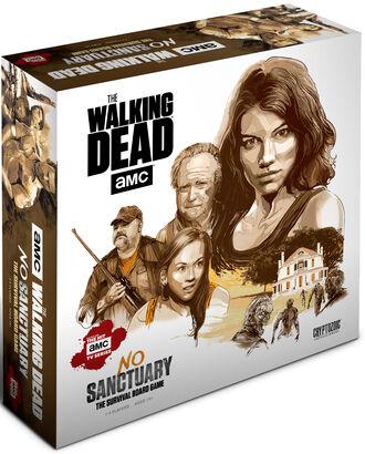 Ahead The Walking Dead What Lies Ahead Exp Utvidelse til The Walking Dead No Sanctu