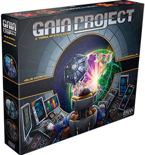 Pro-Ject Gaia Project Brettspill Oppfølgeren til Terra Mystica