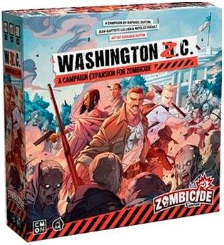 Zombicide 2nd Edition Washington ZC Exp Campaign Expansion for 2nd Edition