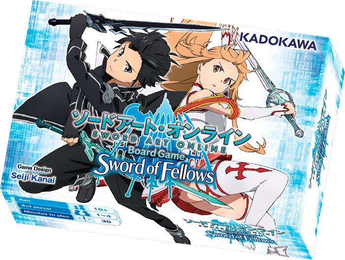 ART Sword Art Online Terningspill Sword of Fellows