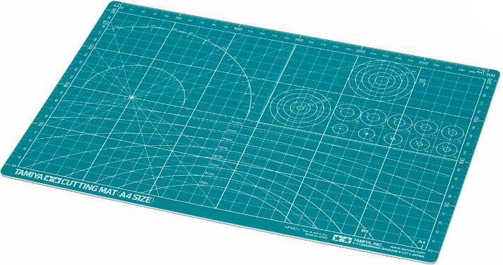 Cutting Mat - A4 Green Tamiya