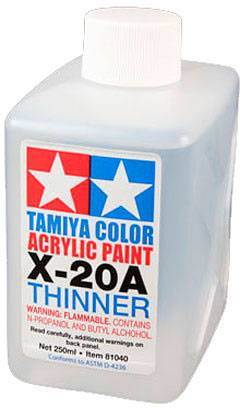 Tamiya Acryl/Poly Thinner X-20A - 250ml