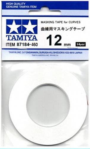 Tamiya Masking Tape For Curves - 12mm