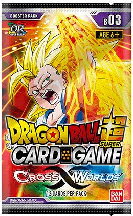 Dragon Ball SCG B03 Cross Worlds Super Card Game - Booster Pack 03