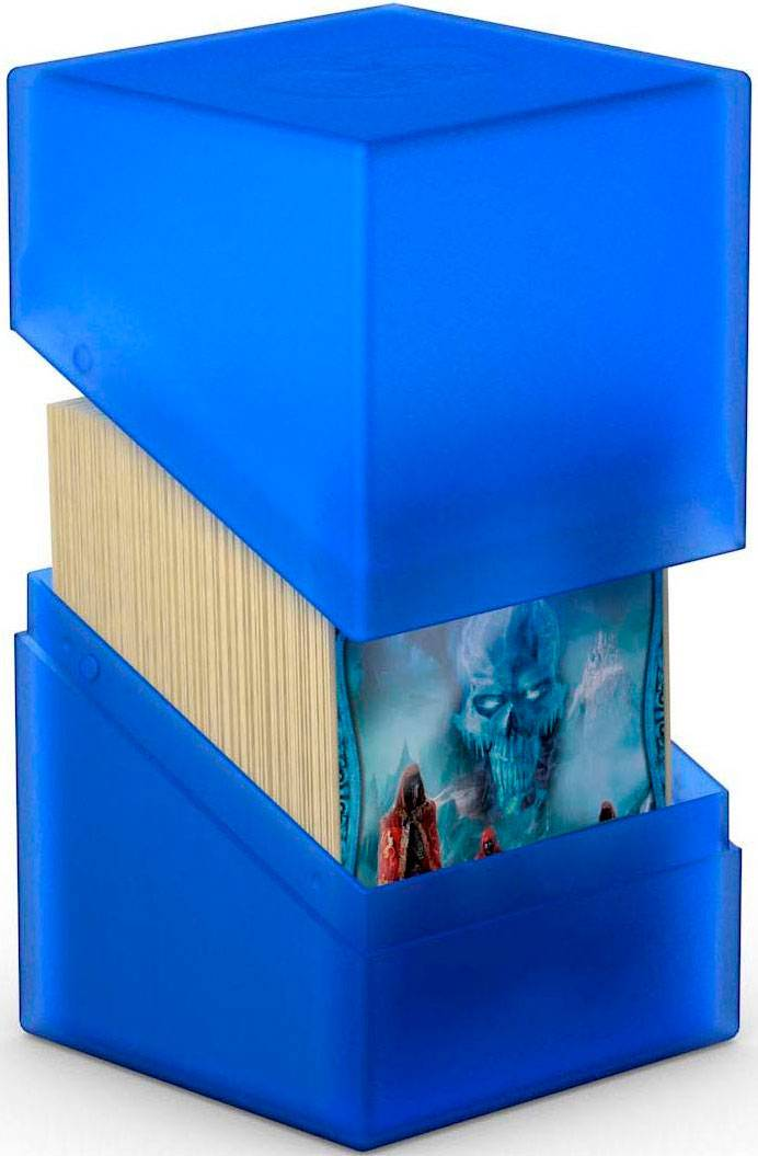 Sapphire DeckBox Boulder 120 kort Blå Sapphire Samleboks Ultimate Guard 10 x 8 x 7,5 cm