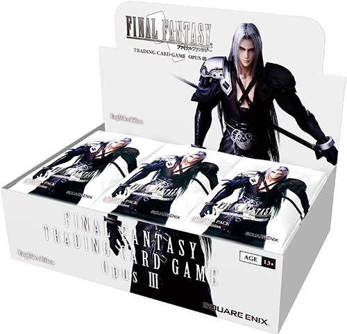 Final Fantasy TCG Opus 3 Display Trading Card Game - 36 boosterpakker