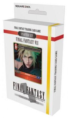 Final Fantasy VII TCG Starter Set Trading Card Game Final Fantasy 7