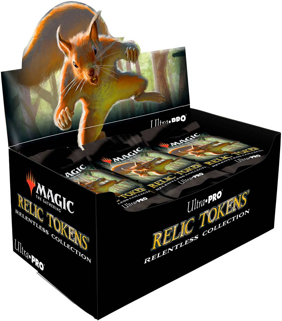 Relic Tokens Relentless Coll Booster Magic the Gathering - Ultra Pro