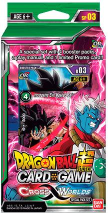 Dragon Ball SCG SP03 Cross Worlds Super Card Game - Special Pack 03