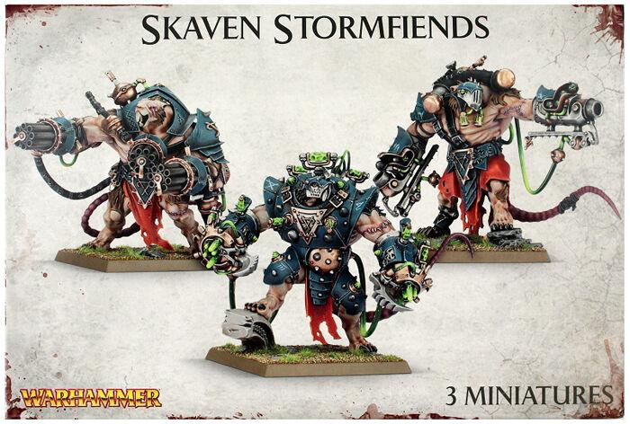 Skaven Stormfiends Warhammer Fantasy