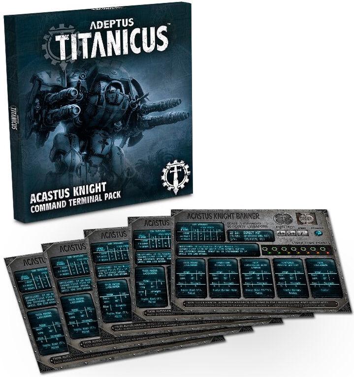 Titanicus Acastus Knight Command Termina Adeptus Titanicus