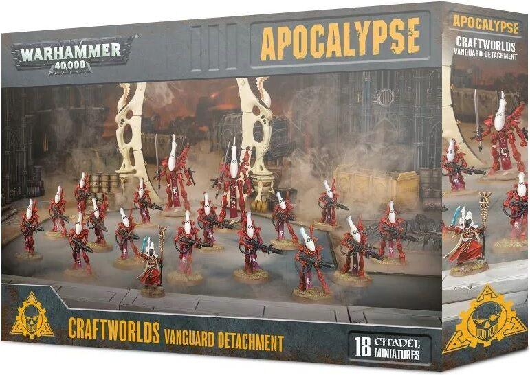 Vanguard Apocalypse Detachment Craftworlds Warhammer 40K - Vanguard