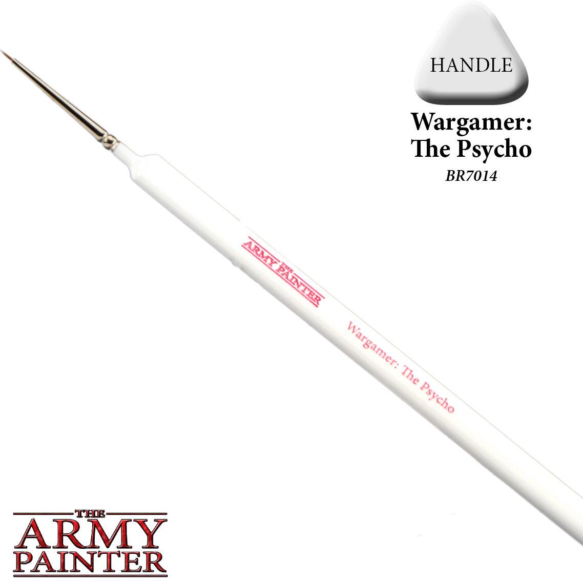Wargamer The Psycho Brush Pensel 6/0 Army Painter - ca størrelse #6/0