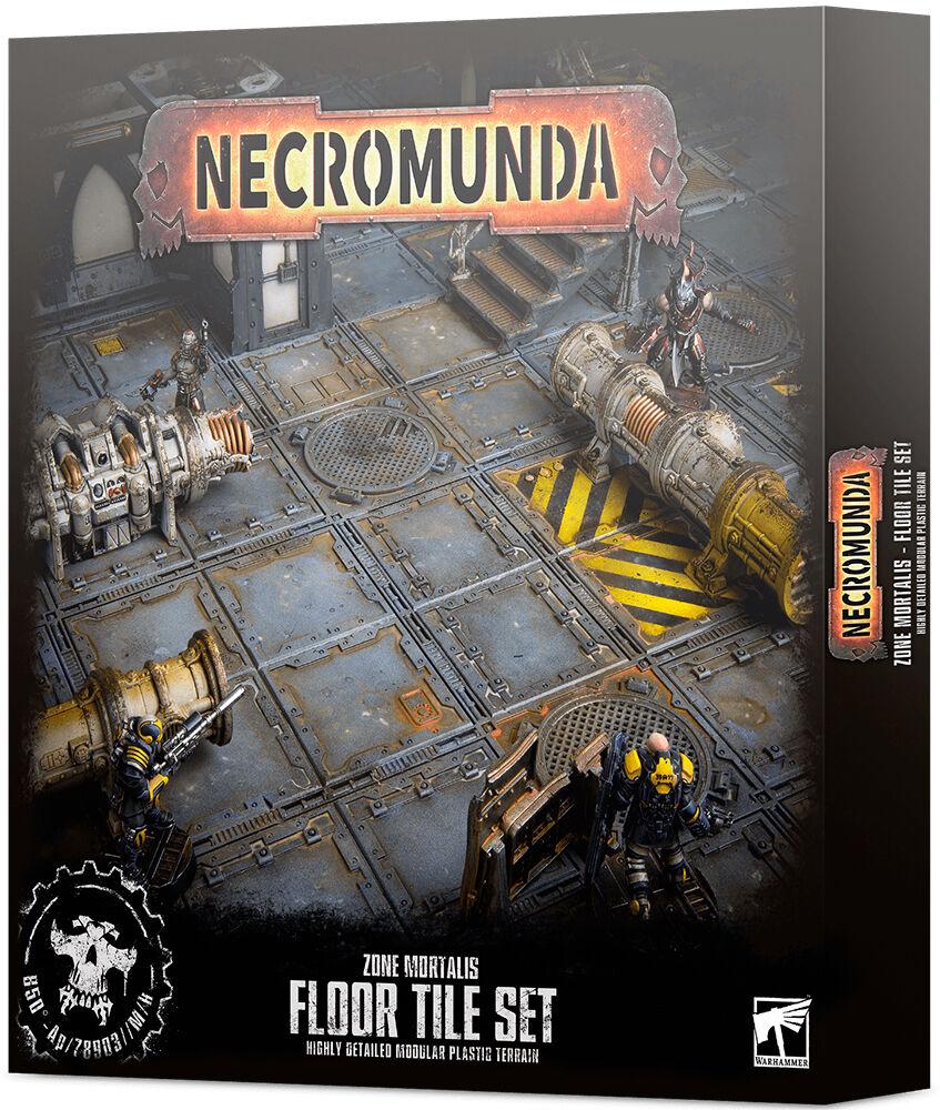 Zone Necromunda Floor Tile Set Zone Mortalis