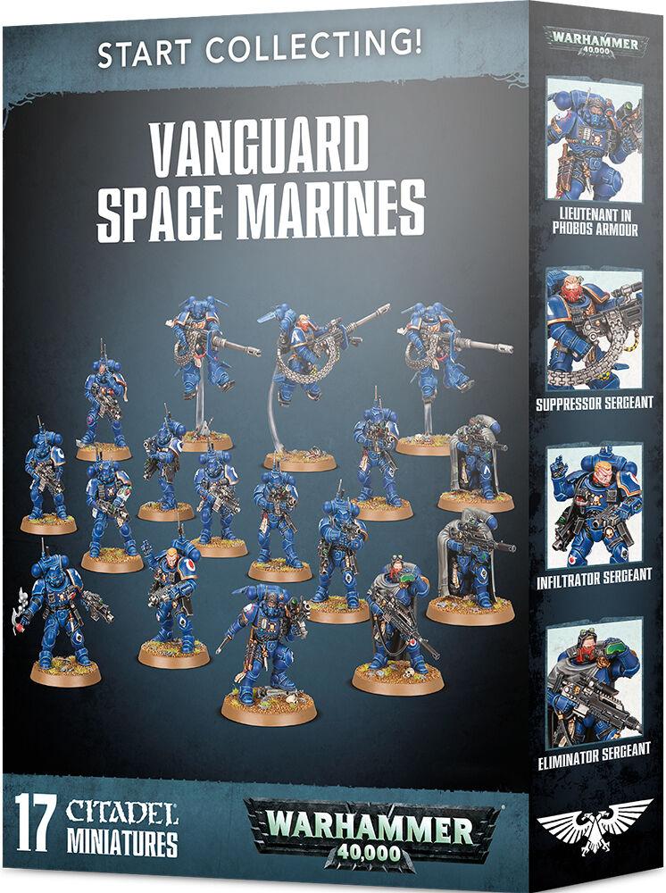 Vanguard Space Marines Start Collecting Warhammer 40K