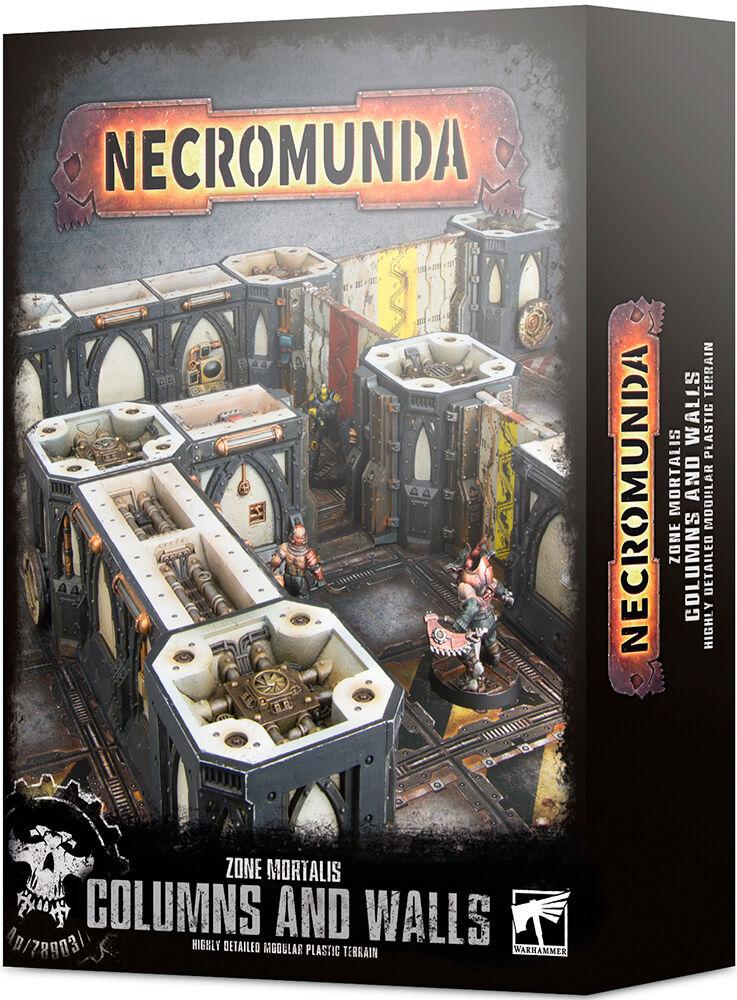 Zone Necromunda Terrain Columns & Walls Zone Mortalis