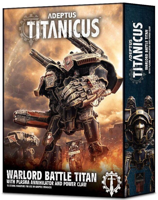 Titanicus Warlord Titan Plasma Annihilat Adeptus Titanicus Annihilator