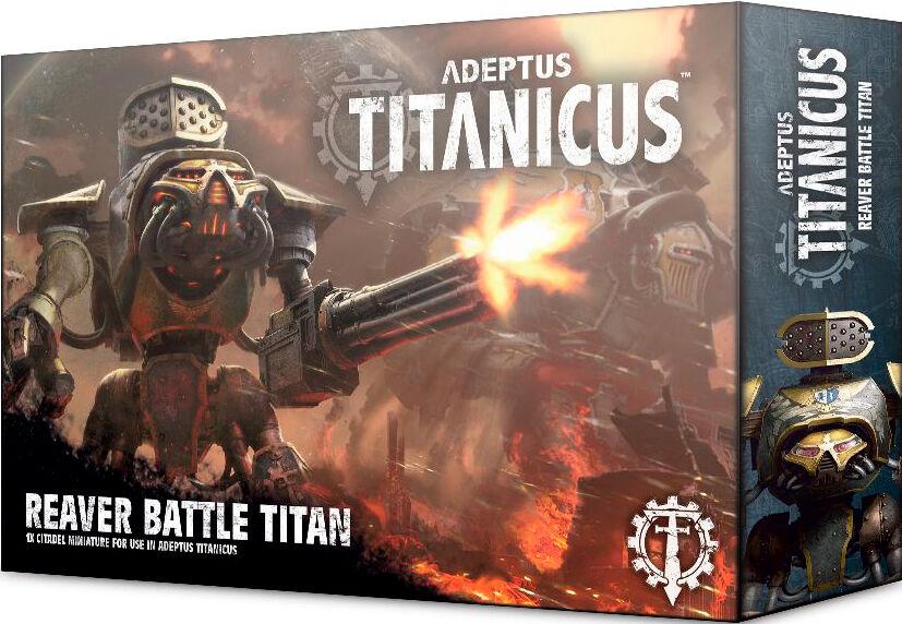Titanicus Reaver Battle Titan Adeptus Titanicus
