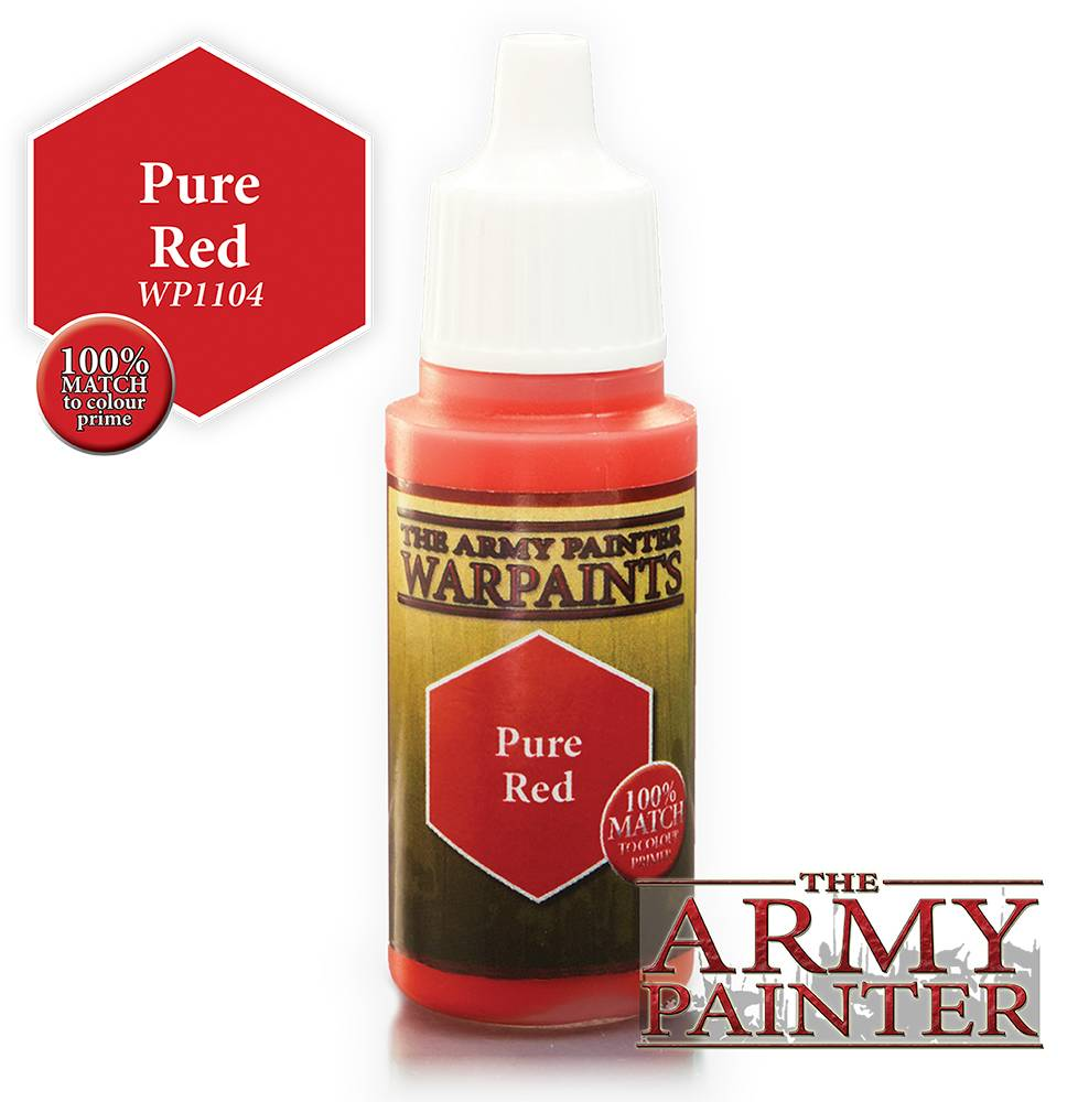 Pure Army Painter Warpaint Pure Red Også kjent som D&D Dragonfire Red