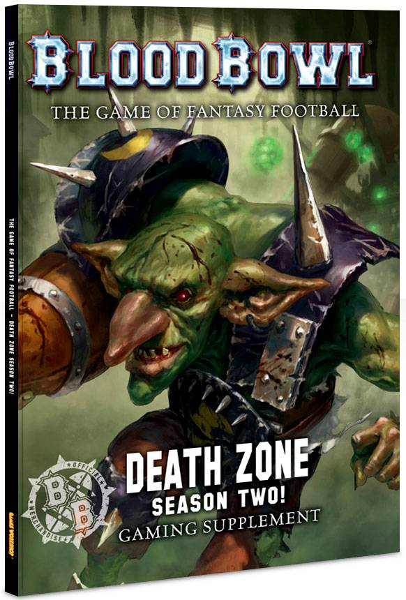 Zone Blood Bowl Death Zone Season 2 (Bok) Blood Bowl Gaming Supplement