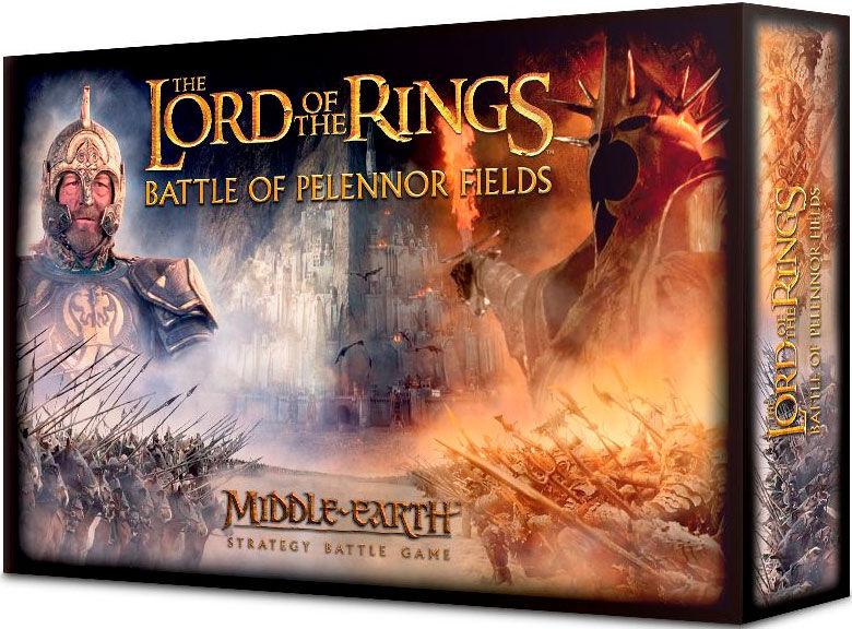 Lord of the Rings Battle of Pelennor Fie Starter Set m/ 84 miniatyrer + regler