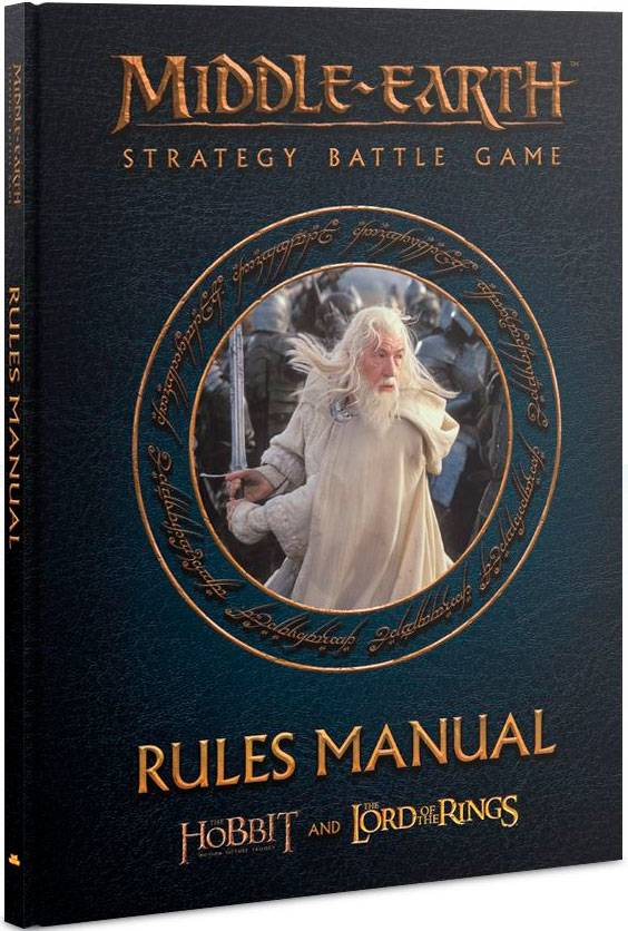 Middle-Earth Rules Manual (Bok) LOTR/The Hobbit Strategy Battle Game