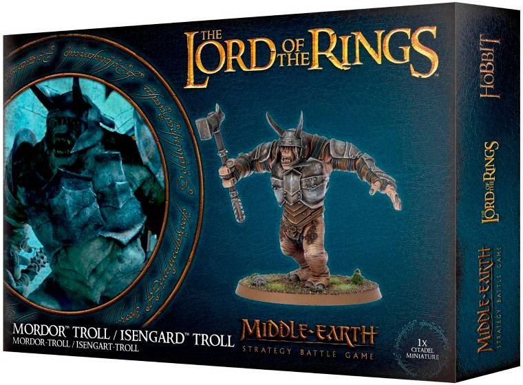 Lord of the Rings Mordor/Isengard Troll Middle-Earth Strategy Battle Game