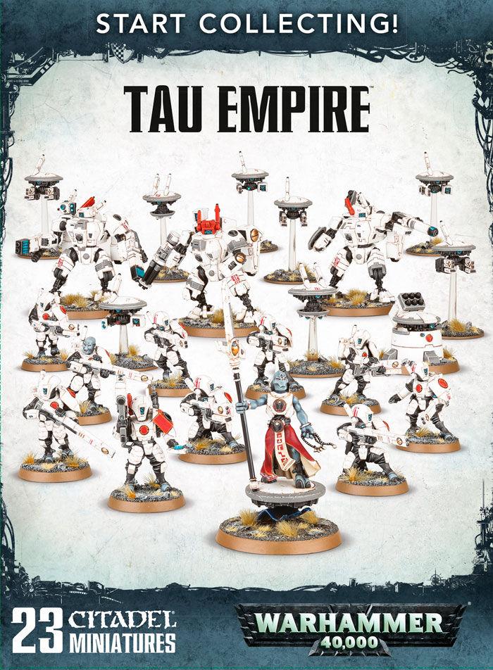 Tau Empire Start Collecting! Warhammer 40K