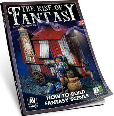 Vallejo Bok The Rise of Fantasy Guide How to Build Fantasy Scenes
