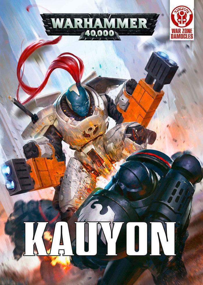Zone Kauyon War Zone Damocles (Bok) Warhammer 40K 2 bøker