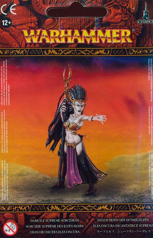 Dark Elf Supreme Sorceress Warhammer Fantasy
