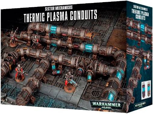 Thermic Plasma Conduits Warhammer 40K Sector Mechanicus