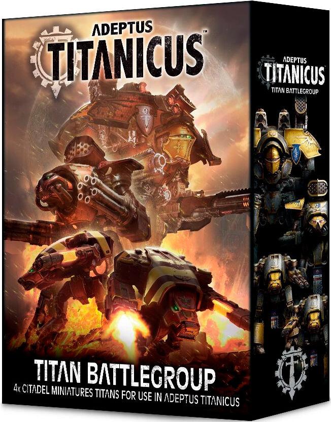 Titanicus Titan Battlegroup Adeptus Titanicus