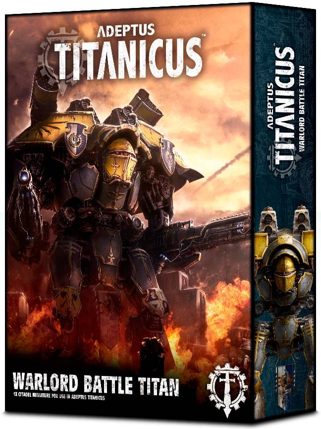 Titanicus Warlord Battle Titan Adeptus Titanicus
