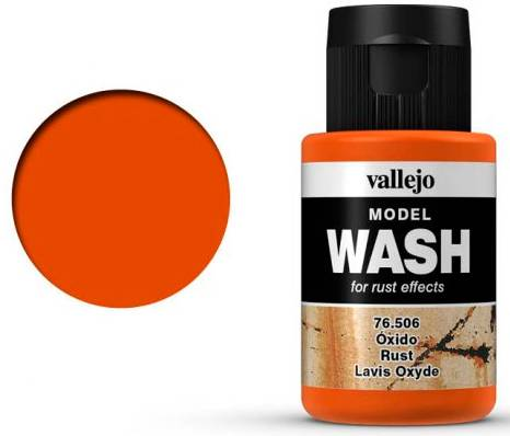 Vallejo Model Wash - Rust 35ml
