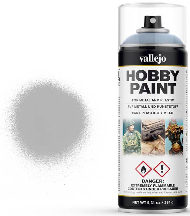 Vallejo Hobby Paint Spray Grey 400ml Sprayboks - Surface Primer