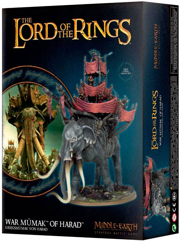 Lord of the Rings War Mumak of Harad Middle-Earth Strategy Battle Game