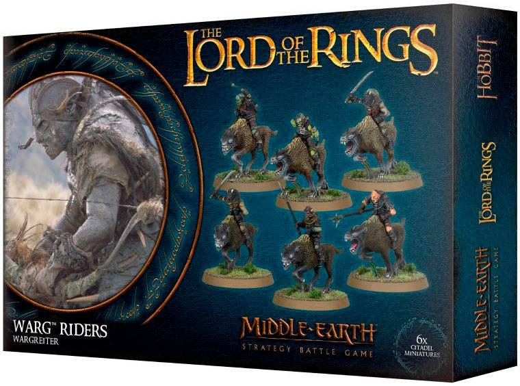 Lord of the Rings Warg Riders Middle-Earth Strategy Battle Game