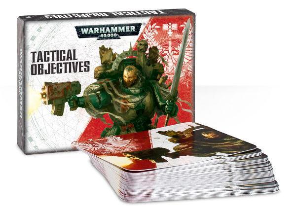 Tactical Objectives Kort Warhammer 40K