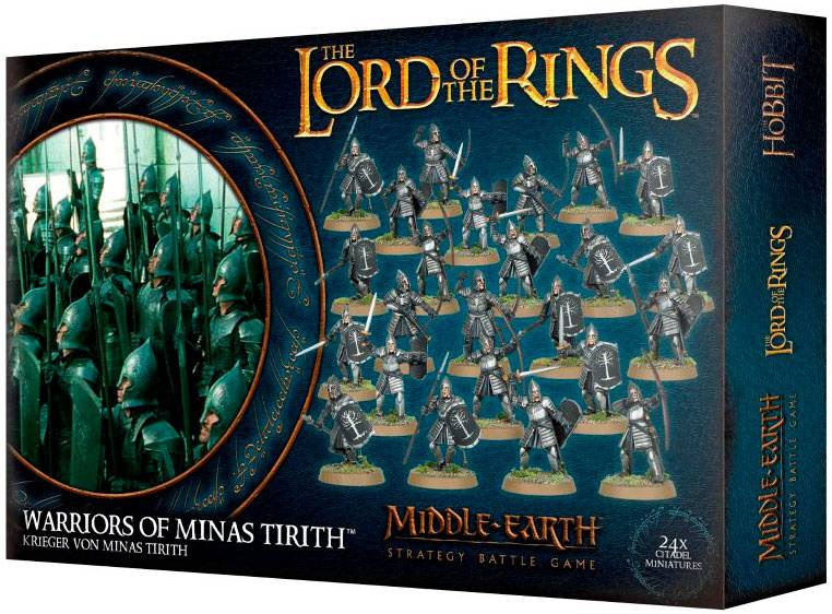 Lord of the Rings Warriors of Minas Tiri Middle-Earth Strategy Battle Game