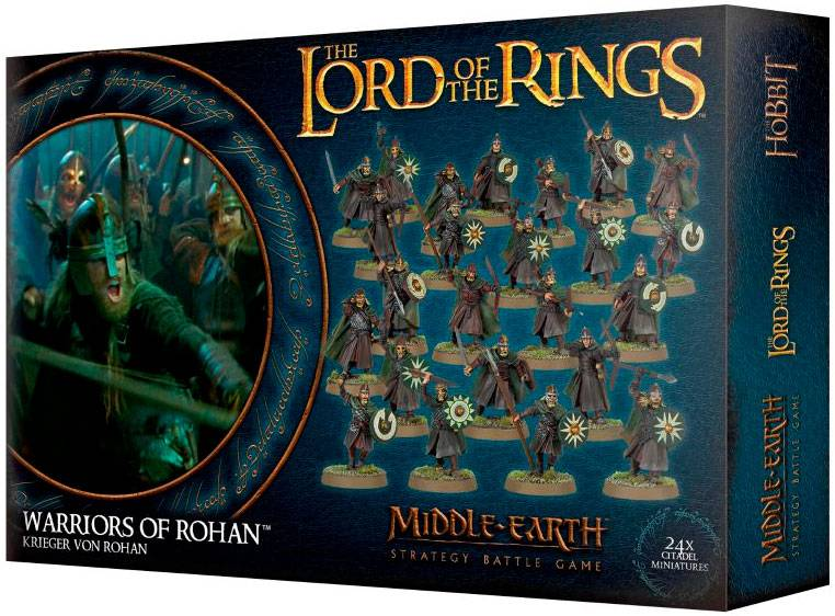 Lord of the Rings Warriors of Rohan Middle-Earth Strategy Battle Game