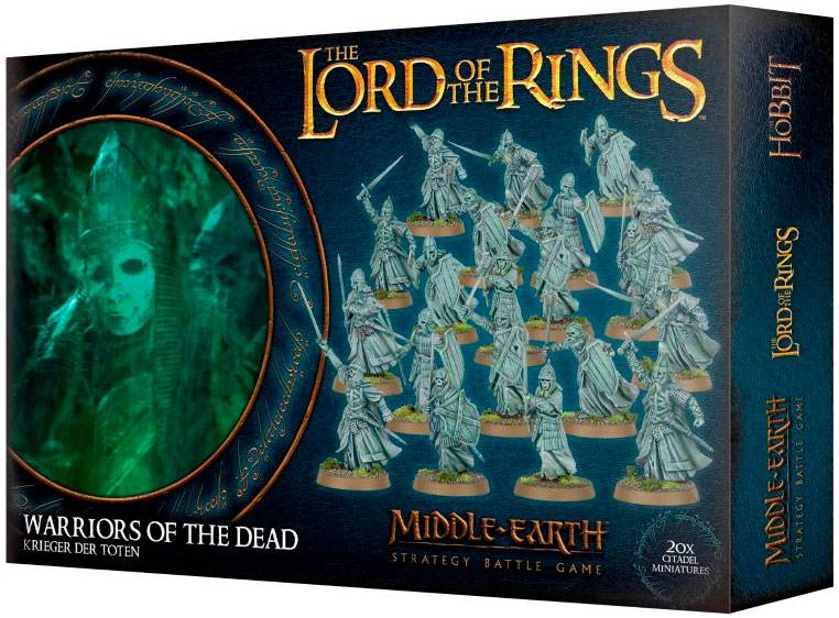 Lord of the Rings Warriors of the Dead Middle-Earth Strategy Battle Game